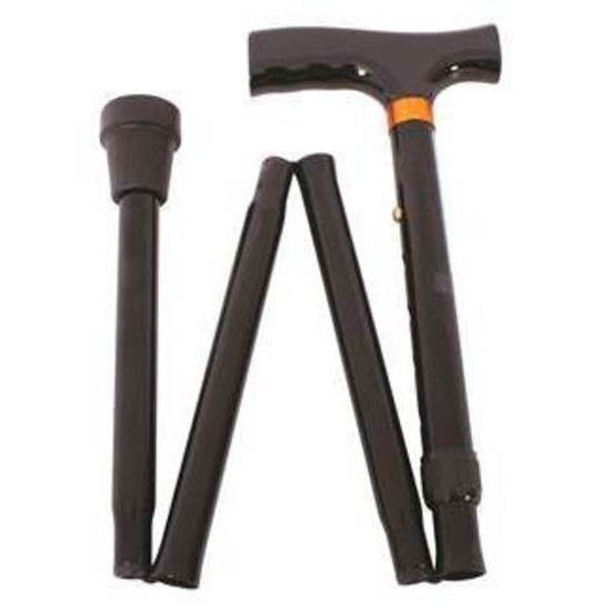 Movere Classic T Handle Folding Walking Stick