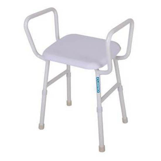 Viking Maxi Shower Stool with Arms