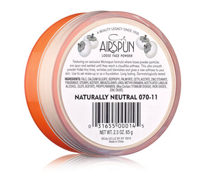 "COTY AIRSPUN - ""070-11 NATURALLY NEUTRAL"""