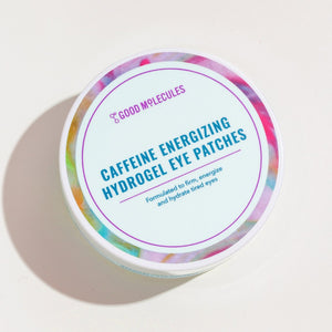 "GOOD MOLECULES - Contorno ojos ""CAFFEINE ENERGIZING HYDROGEL EYE PATCHES"""