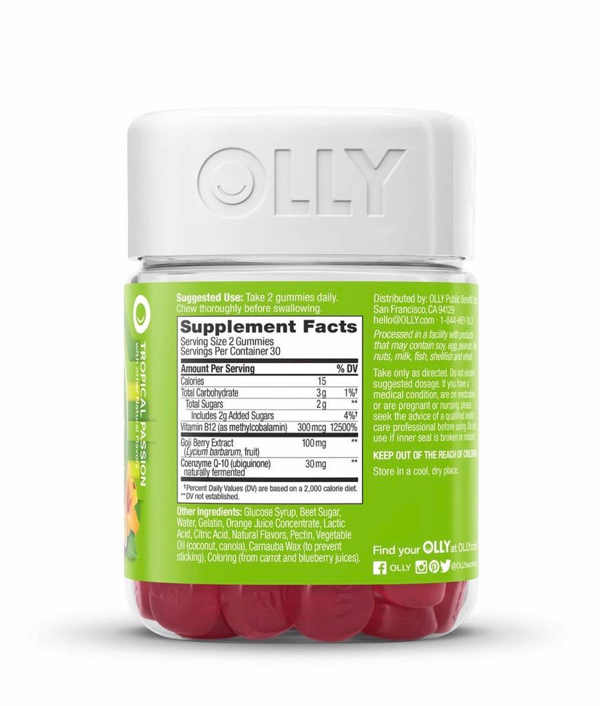 "OLLY - ""DAILY ENERGY GUMMIES"""