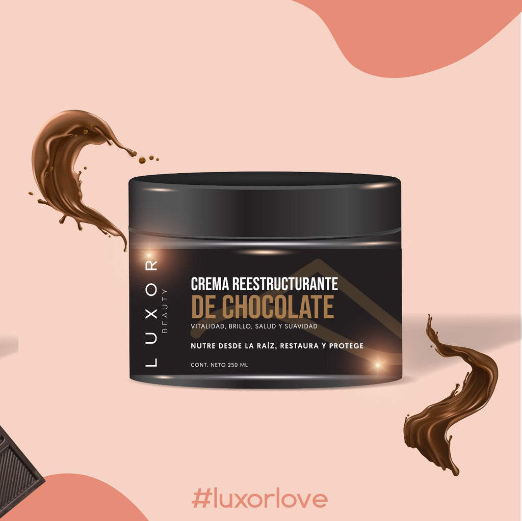 "LUXOR BEAUTY - CREMA REESTRUCTURANTE ""CHOCOLATE"""