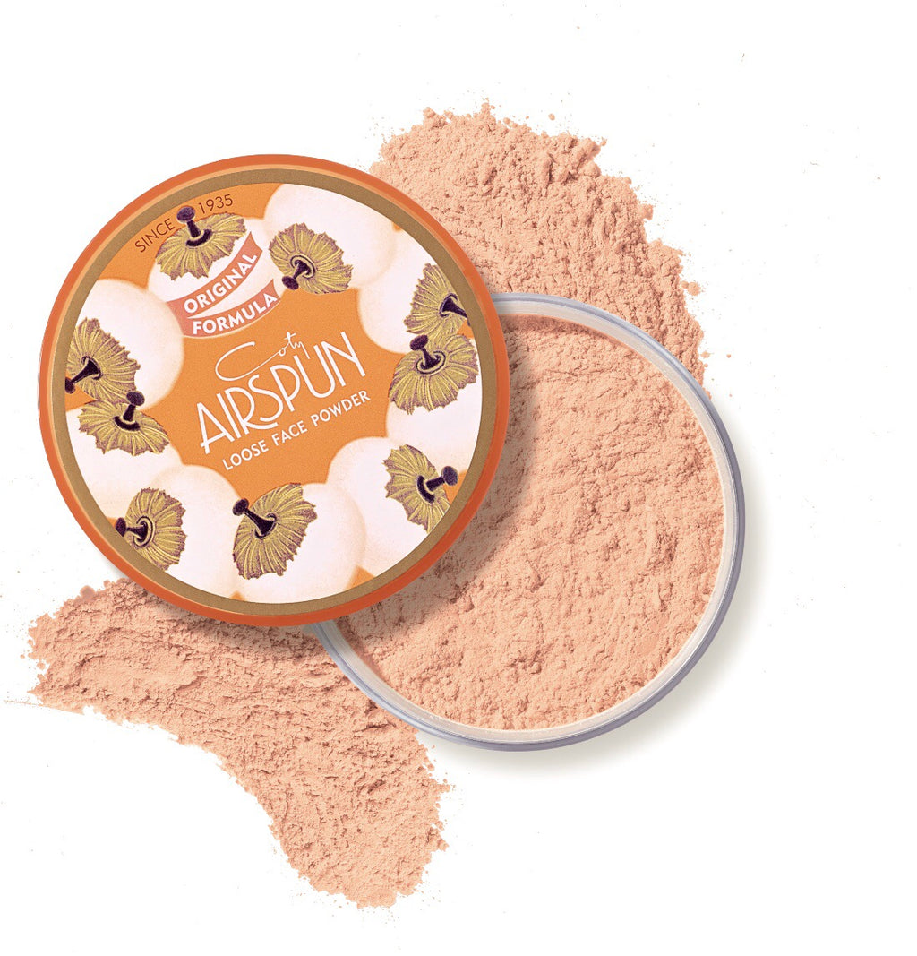 "COTY AIRSPUN - ""070-22 ROSEY BEIGE"""