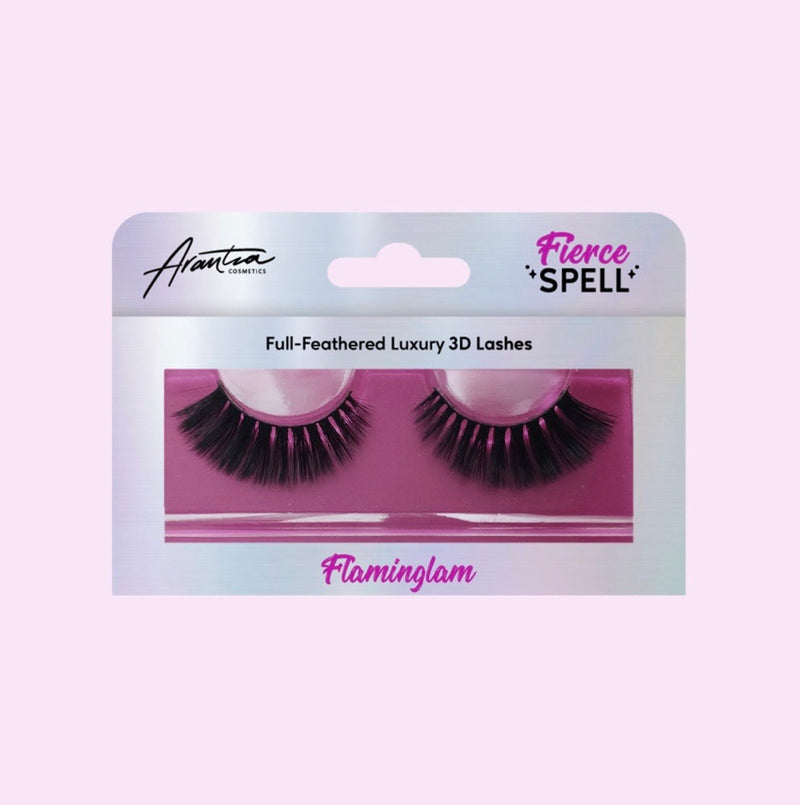 "ARANTZA COSMETICS - Pestaña Fierce Spell ""FLAMINGLAM"""