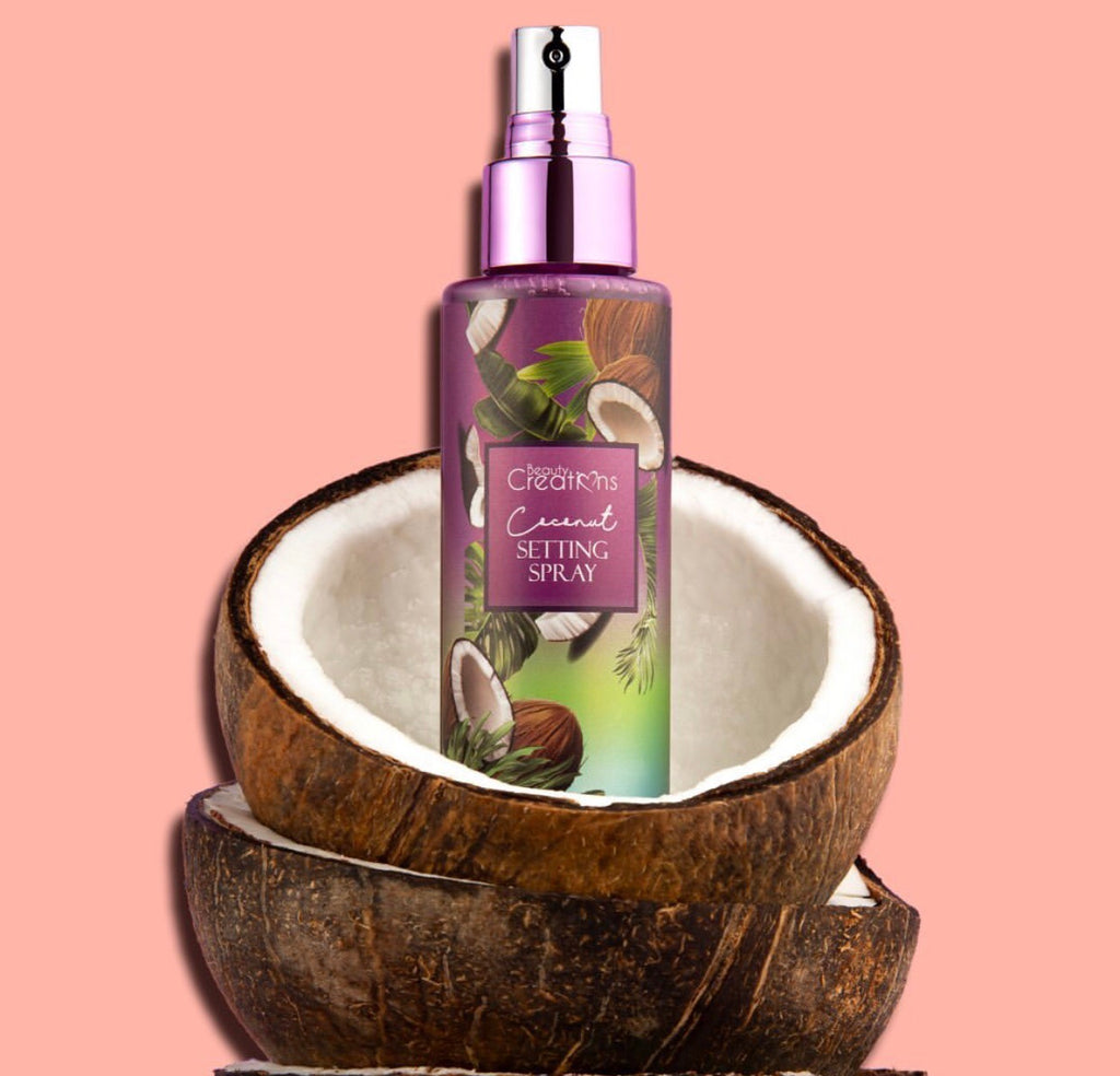 "Beauty Creations - Fijador ""COCONUT SETTING SPRAY"""