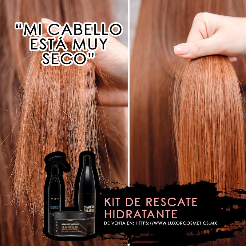 LUXOR BEAUTY - KIT DE RESCATE HIDRATANTE