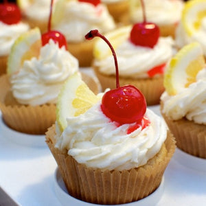 Whiskey Sour Cupcake - Sweetly Spirited Artisan Desserts