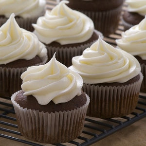 Chocolate Vanilla Cupcake - Sweetly Spirited Artisan Desserts