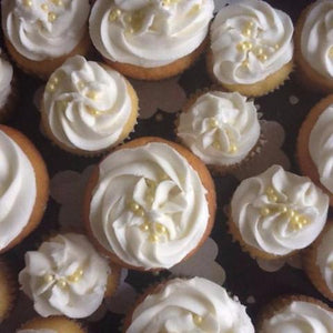 Lemon Drop Martini Cupcake - Sweetly Spirited Artisan Desserts