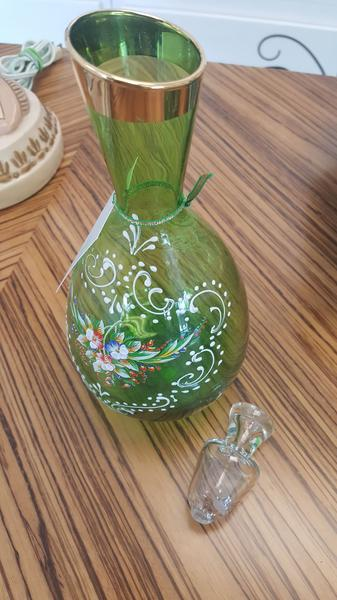 Cordial Decanter & 6-Glass Set