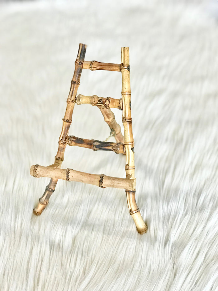 Medium-Sized, Genuine Bamboo Easel