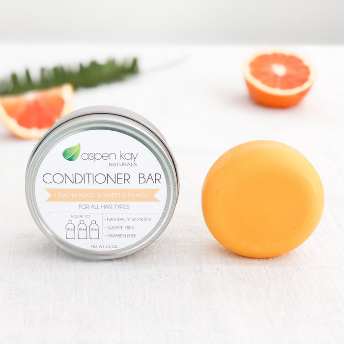 Conditioner Bar Lemongrass & Orange by Aspen Kay