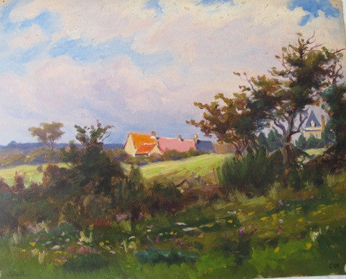 Charles Wislin Oil Painting