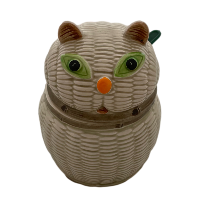Cat Sugar Bowl