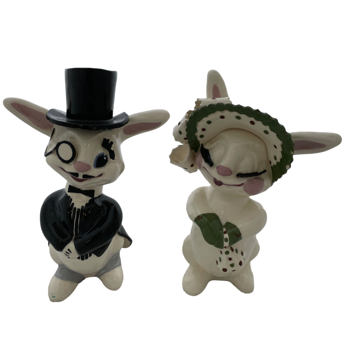 Dapper Bunny Couple