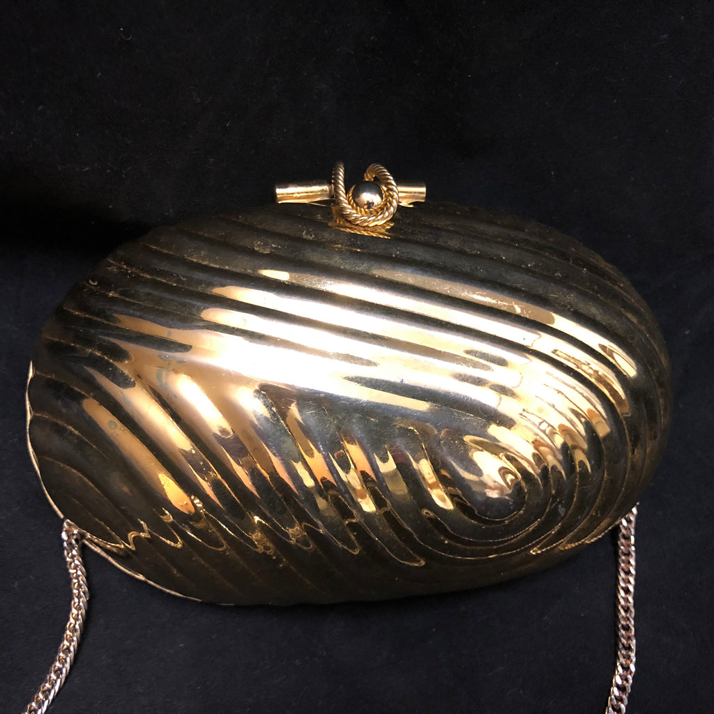 Shell-Shaped Evening Bag 1970's