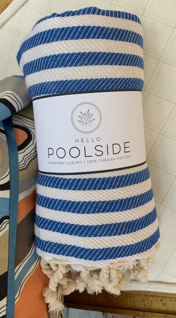 Hello Poolside 100% Turkish Cotton Towels