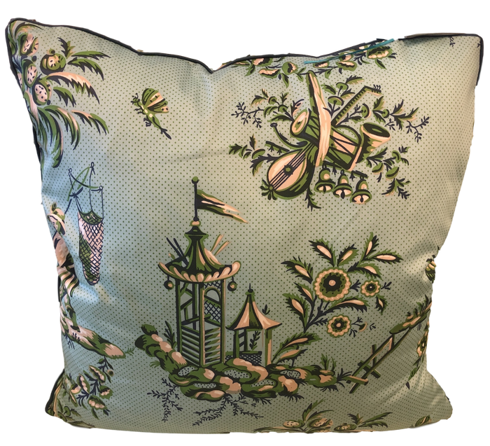 Custom Throw Pillow w/ Feather Insert
