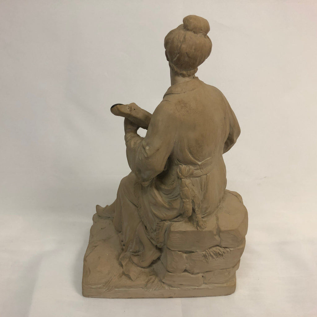 Terracotta Chinoiserie Figure