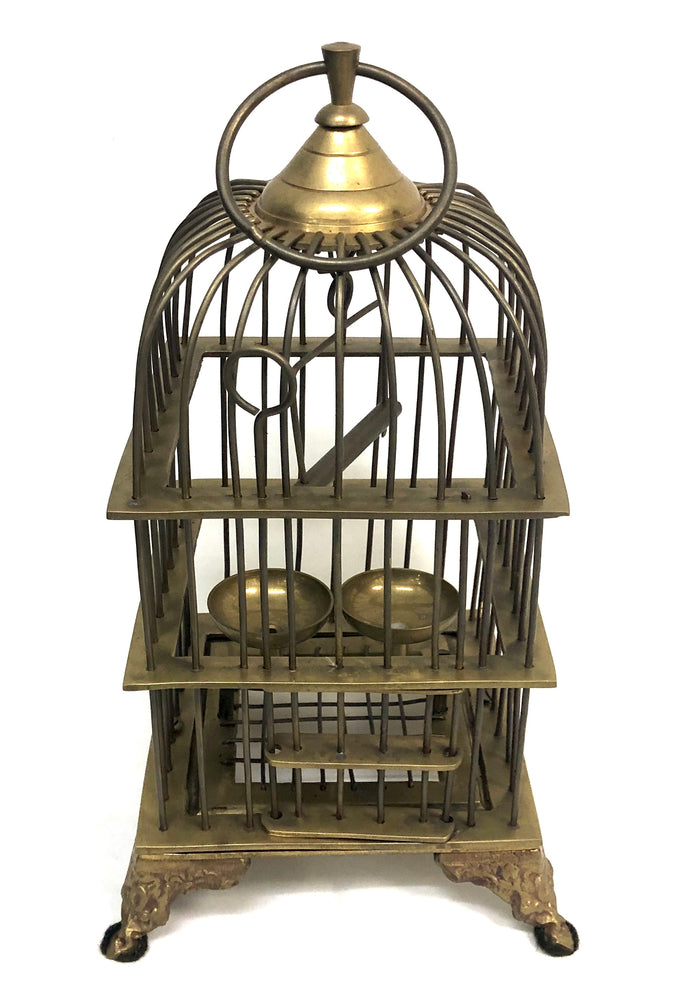 Brass Decorative Birdcage