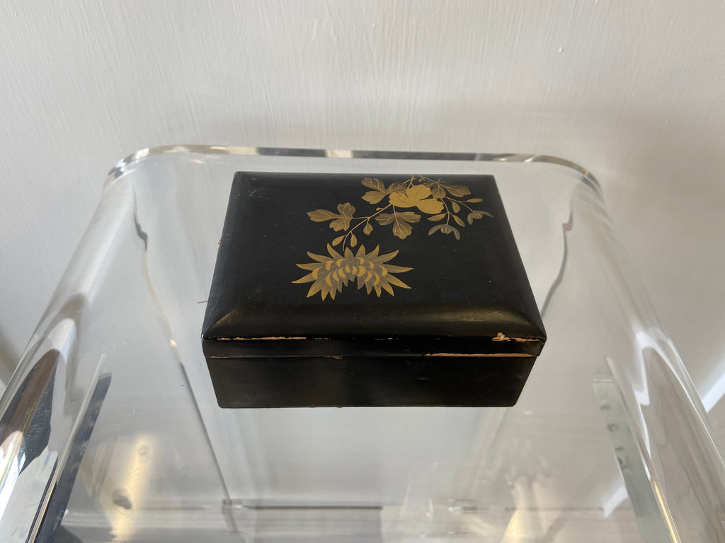 Japanese Lacquer Box Small