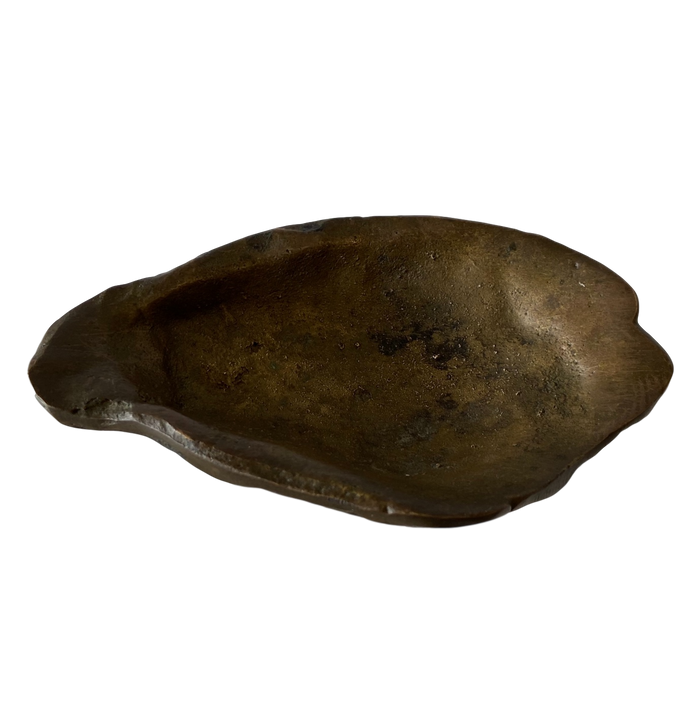 Solid Brass Oyster Tray