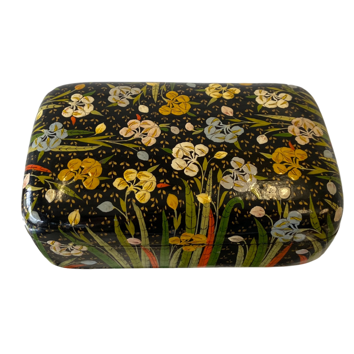 Floral Indian Lacquer Box