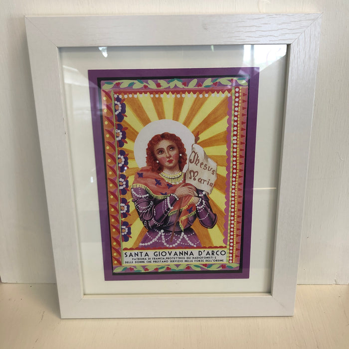 Italian Framed Prayer Prints (Set of 4)