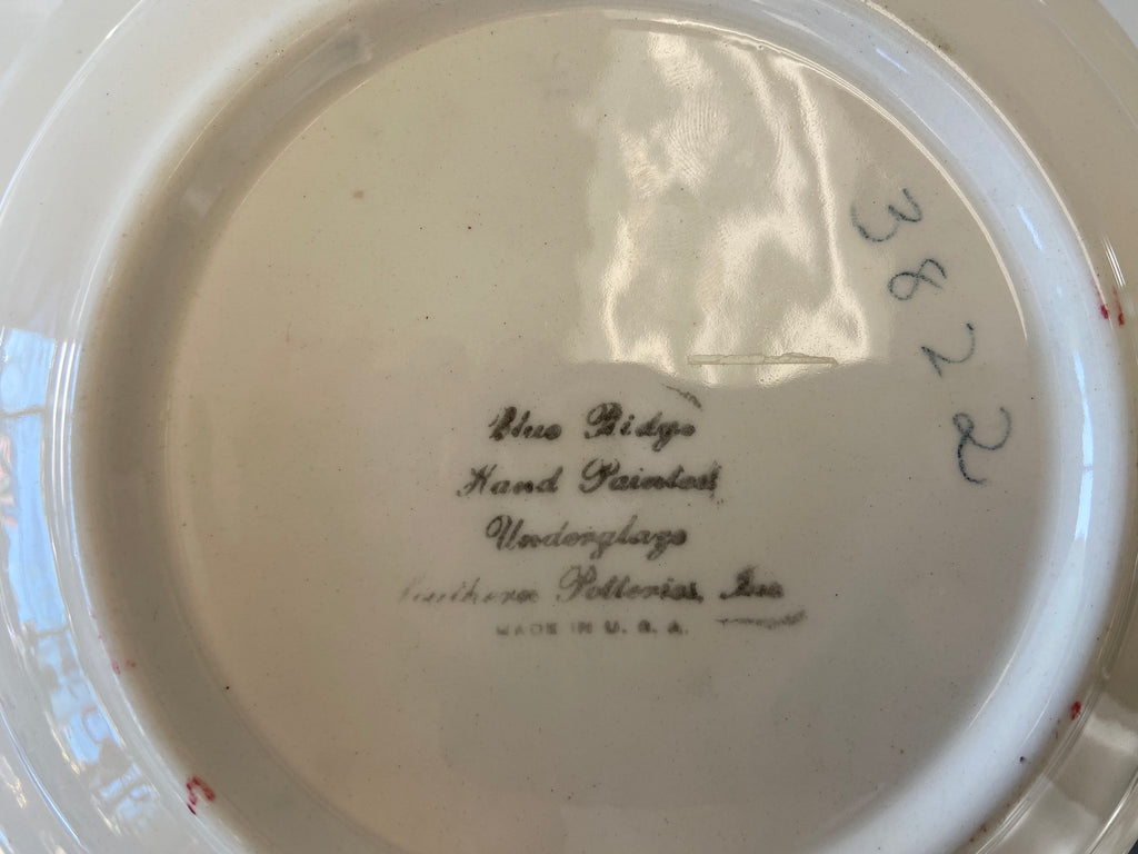 Blue Ridge Serving Bowl