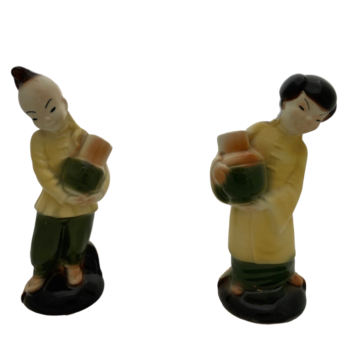 Asian Porcelain Figure Set