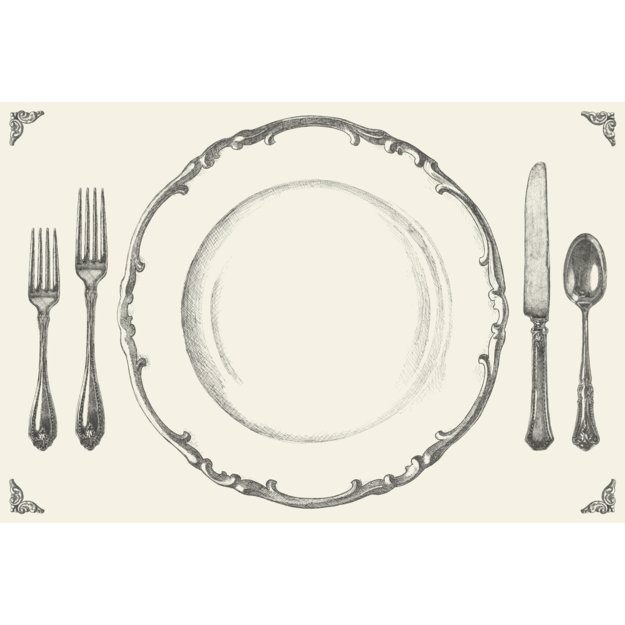 Hester & Cook Paper Placemats Pads