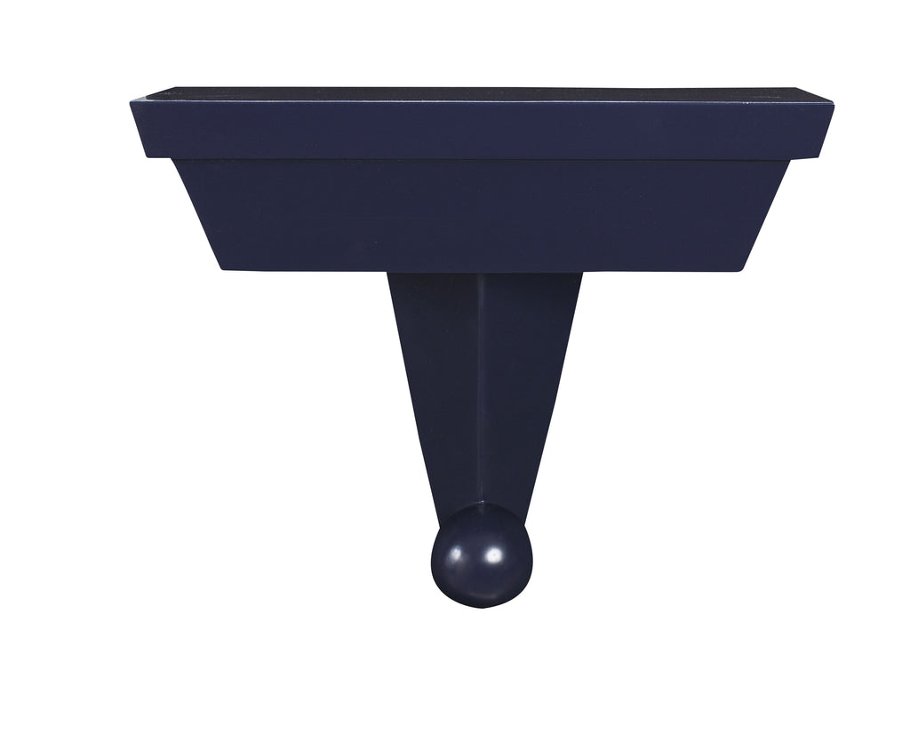 As seen in the 2017 Traditional Home Dallas Showhouse, the Gimlet Wall Bracket comes in 8 different finishes. This piece from The Facet Collection was designed by Michelle Workman for French Heritage and is perfect for anyone looking to achieve that luxurious, high-end look in their home. Shown here in the Midnight finish.