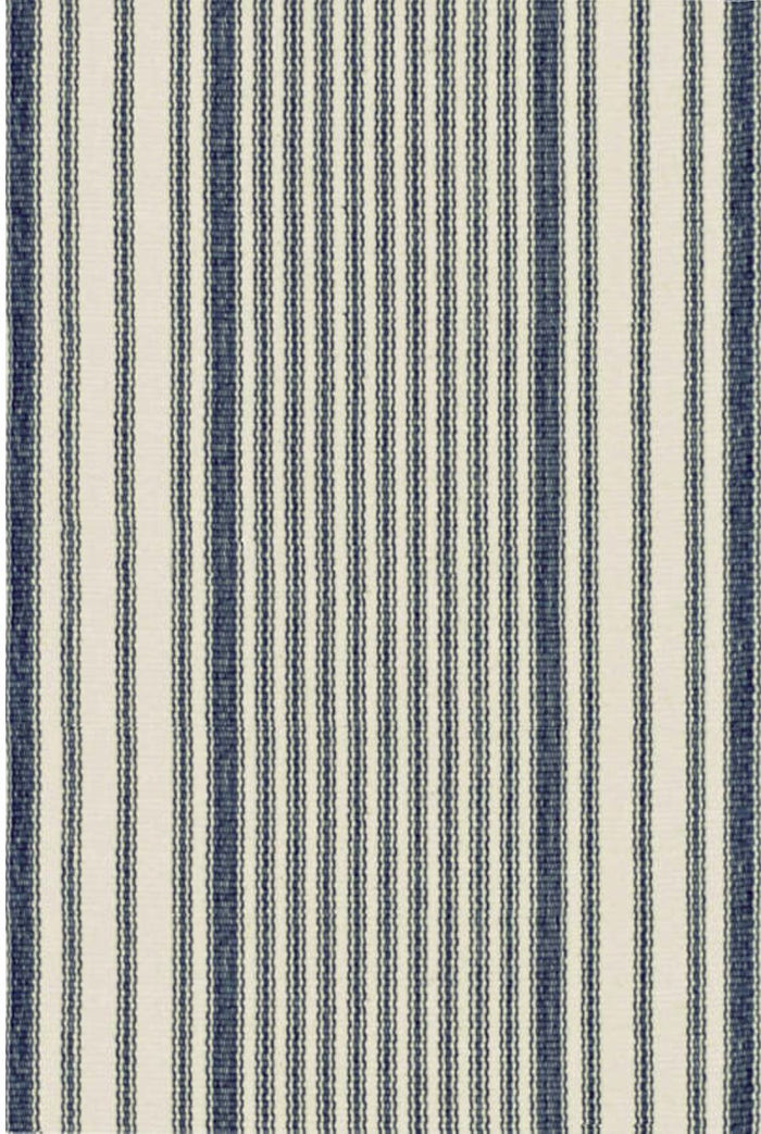 MATTRESS TICKING WOVEN COTTON RUG