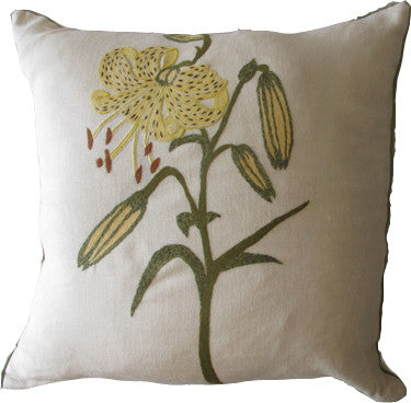 Pablo Mehkis Embroidered Throw Pillow