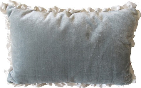Small, Velvet Lumbar Pillow
