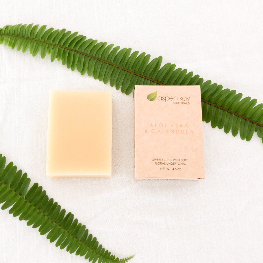 Organic Hand-Made Bar Soap by Aspen Kay