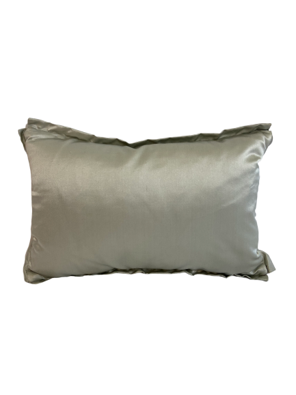 Small Seafoam Satin Pillow