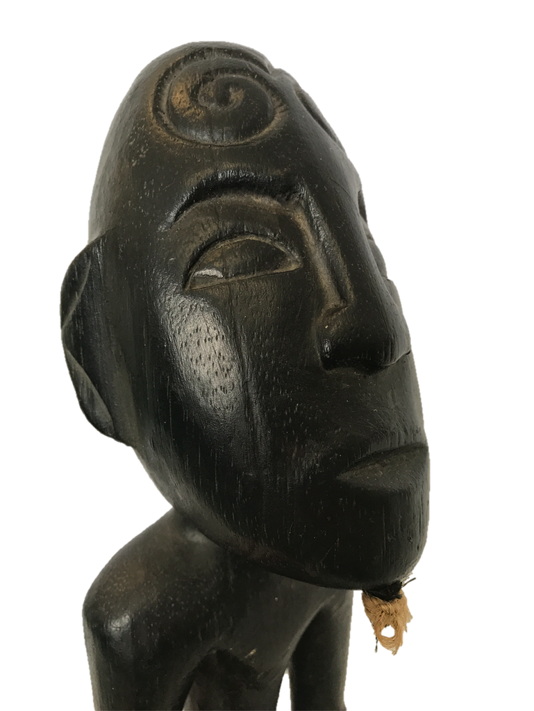 African Statue Totem with Goatee