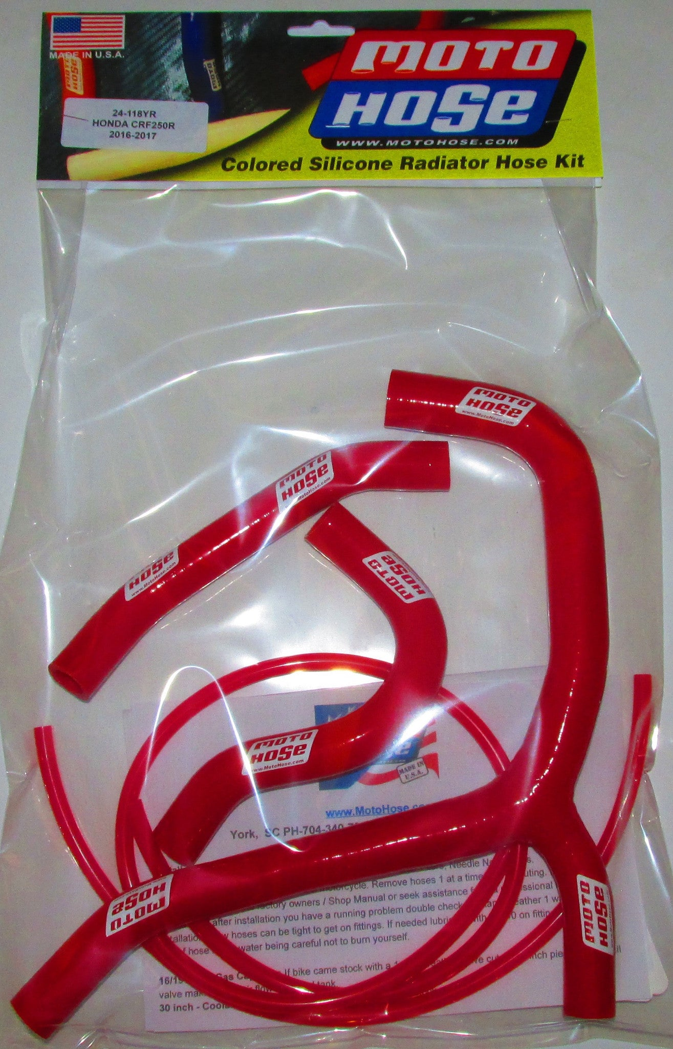 HONDA OFF ROAD PREMIUM HOSE KIT