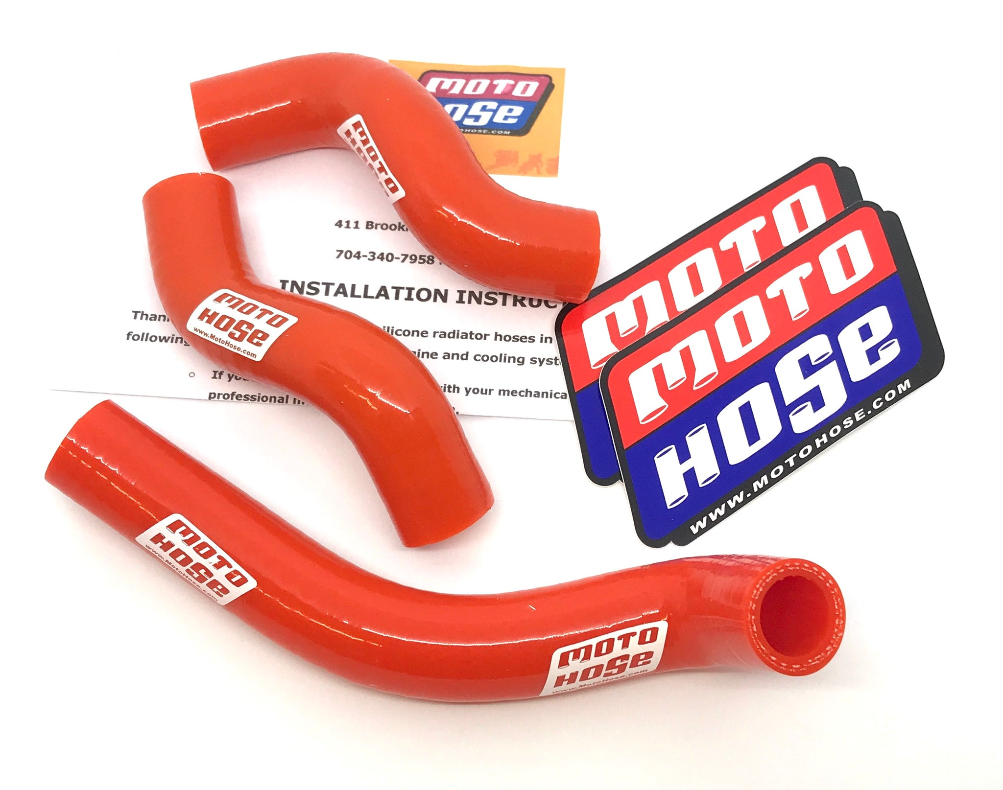 KTM 4 STROKE OFF ROAD SILICONE RADIATOR HOSE