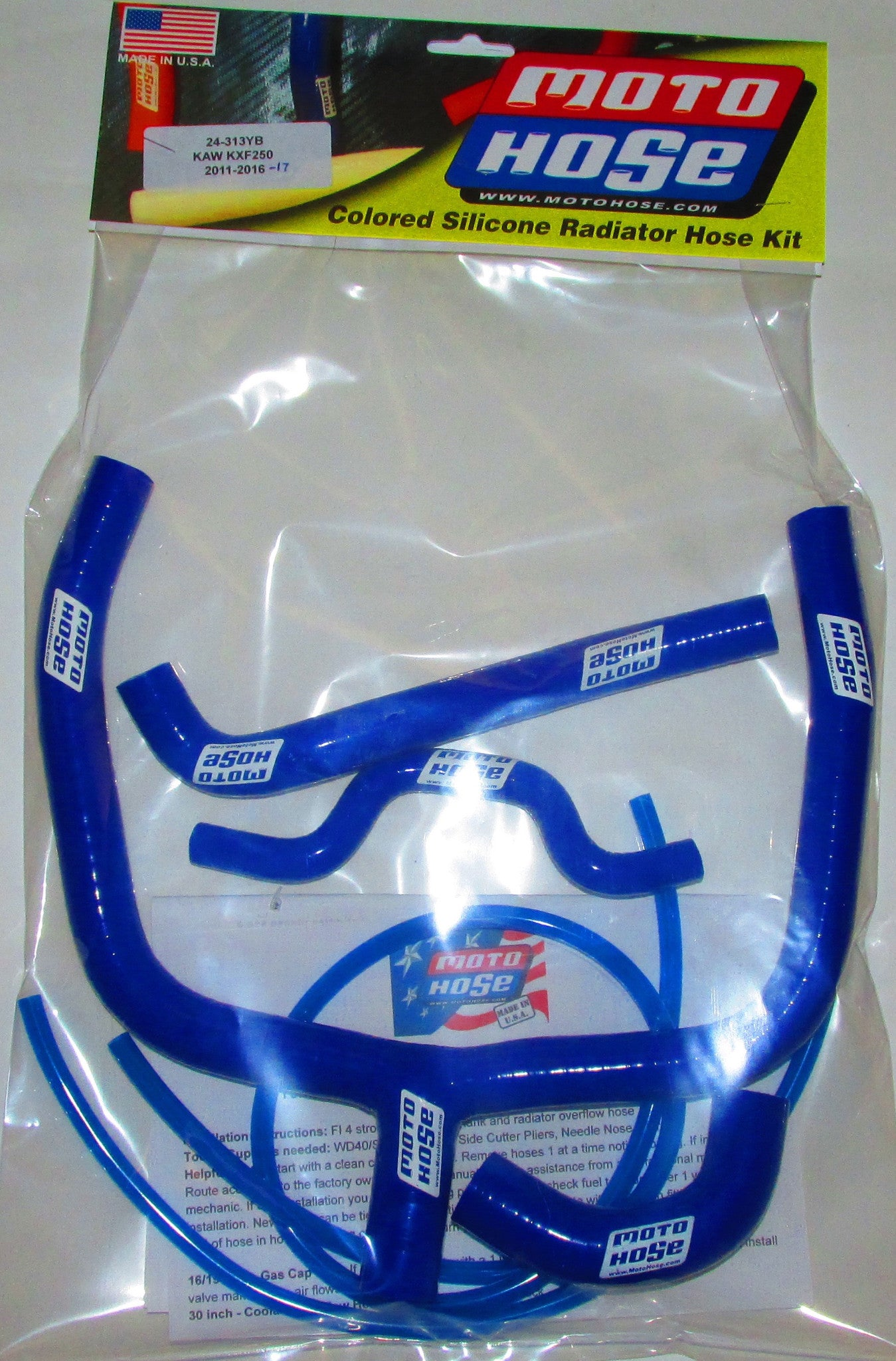 KAWASAKI 2 STROKE OFF ROAD PREMIUM HOSE KIT