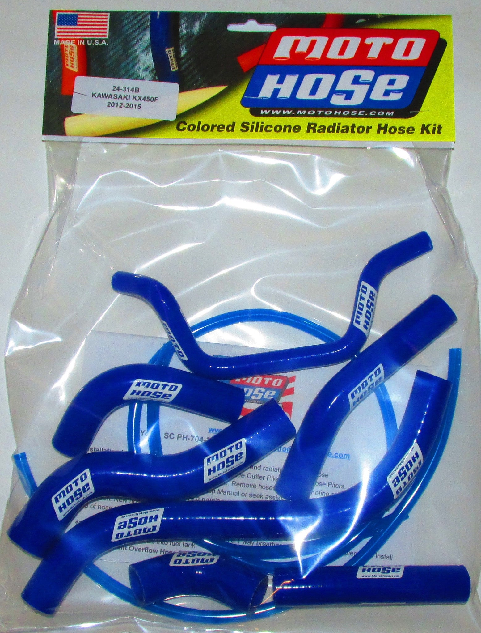 KAWASAKI 24- OFF ROAD HOSE KIT