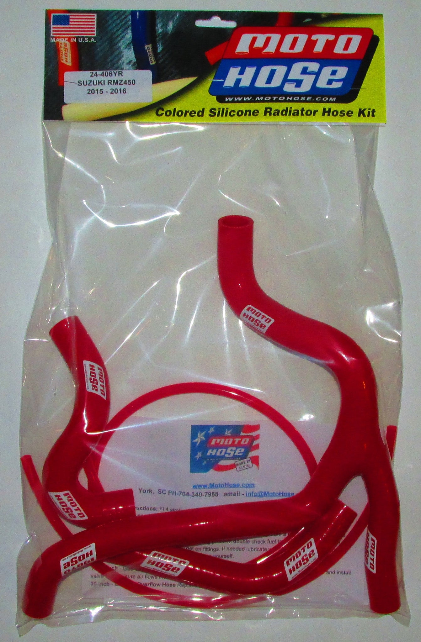 SUZUKI PREMIUM OFF ROAD HOSE KIT