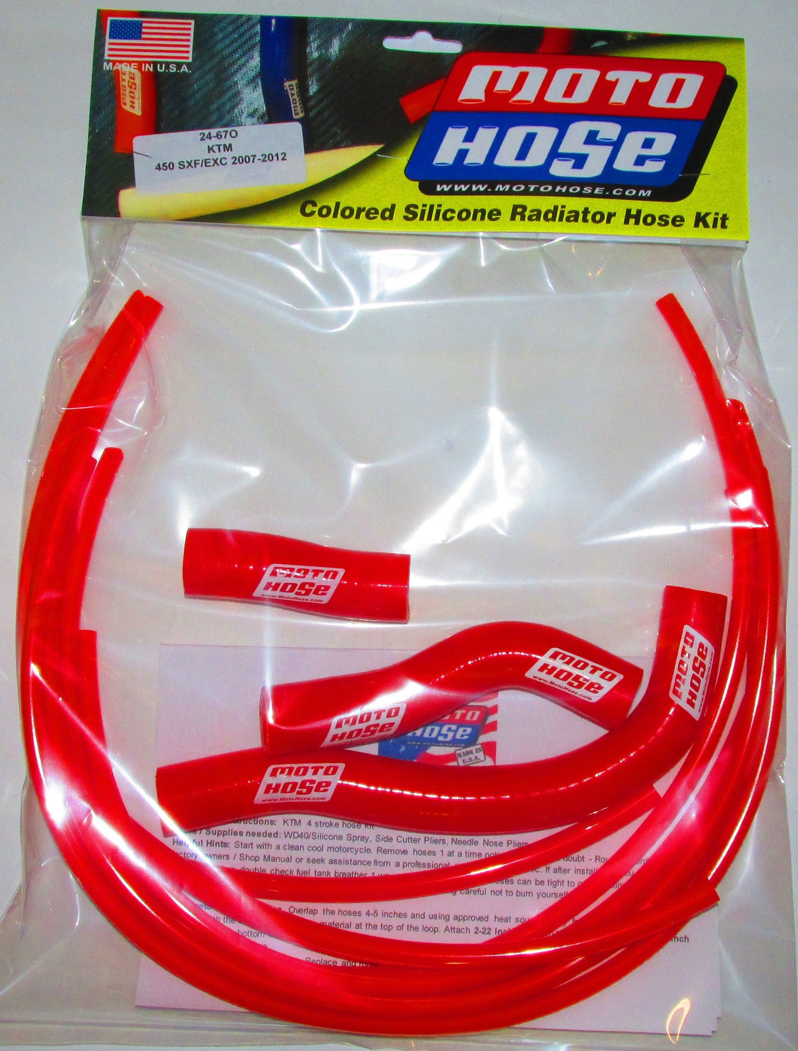 KTM OFF ROAD 4 STROKE PREMIUM HOSE KIT