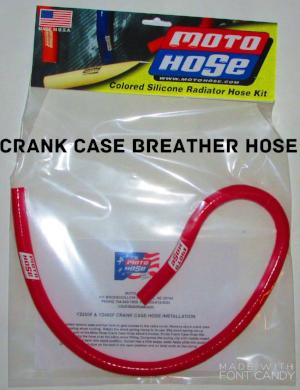 SILICONE COLORED CRANK CASE BREATHER HOSE