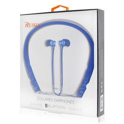 Reiko Bluetooth Wireless Earbuds w/ Neckband Blue