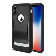 Reiko Belt Clip iPhone X Phone Case Polymer Black