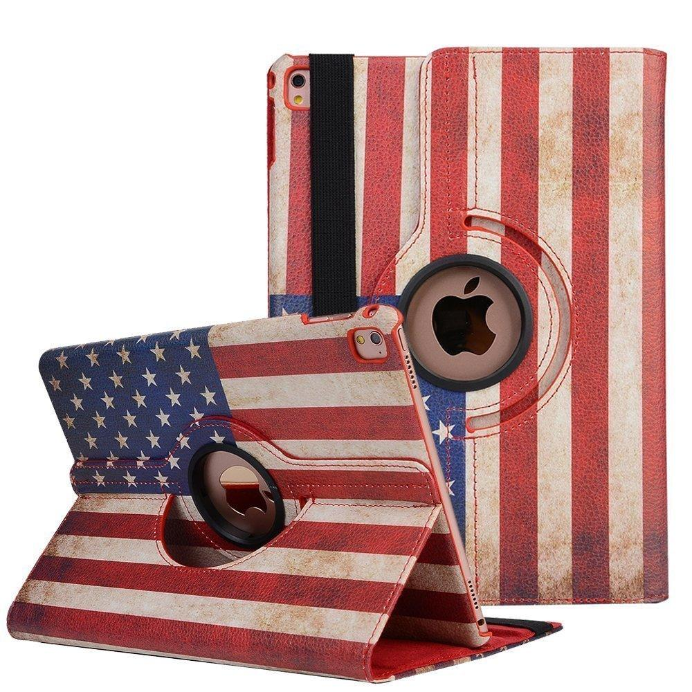 Apple iPad 4 A1458 / A1459 / A1460 Tablet PU Leather Folio 360 Degree Rotating Stand Case by Modes