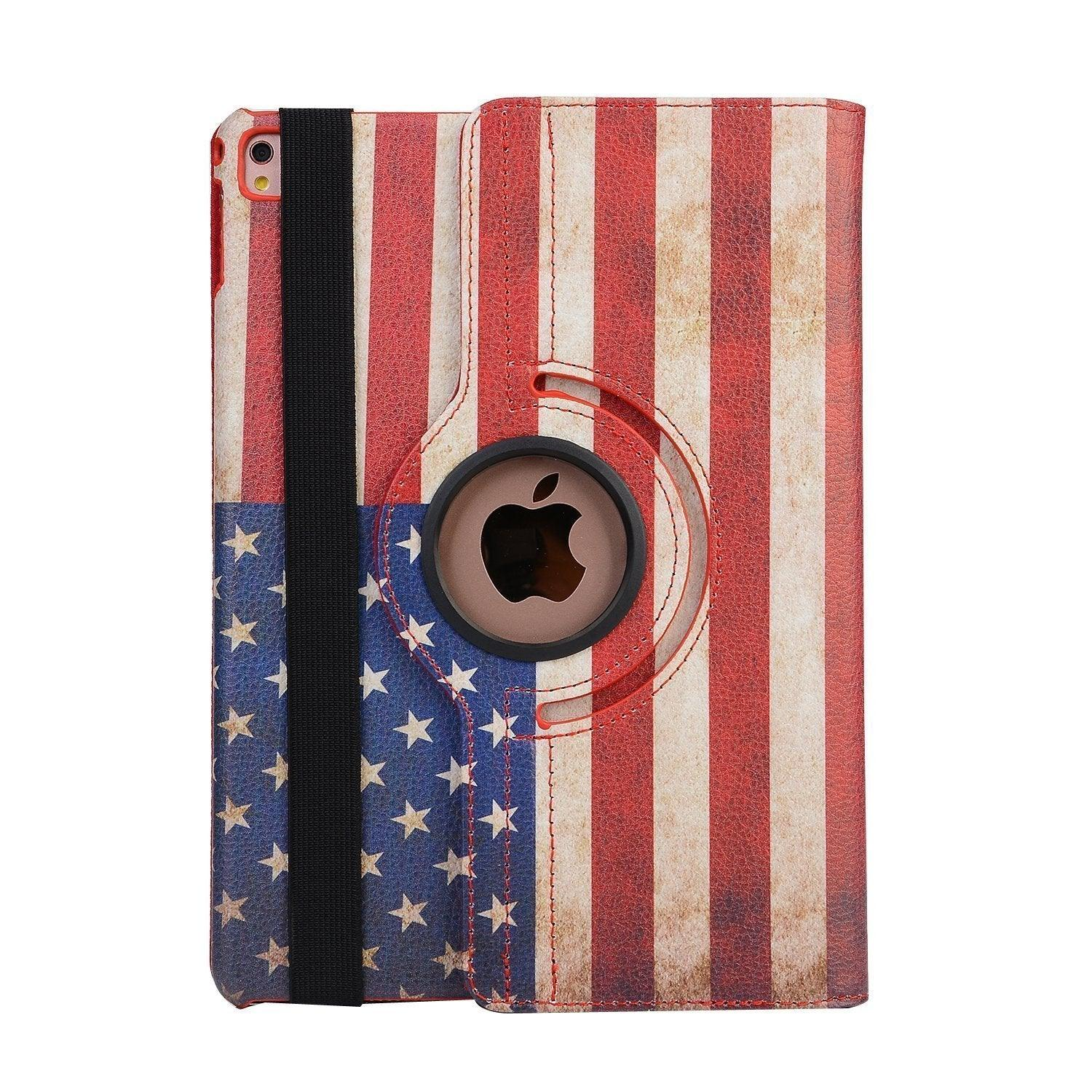 Apple iPad Air 1st / A1474 / A1475 Tablet PU Leather Folio 360 Degree Rotating Stand Case by Modes