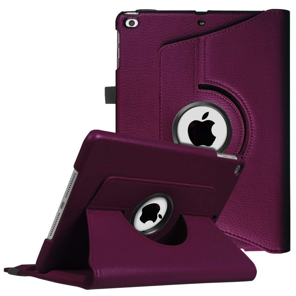 Apple iPad Mini 2 / A1489 / A1490 Tablet PU Leather Folio 360 Degree Rotating Stand Case by Modes